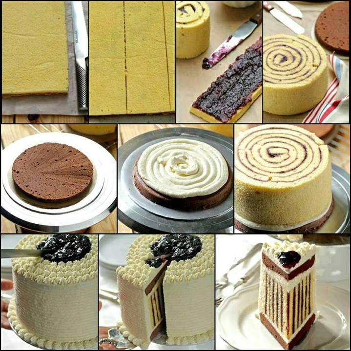 marmelatlı pasta