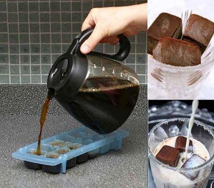 buzluktaki kahve